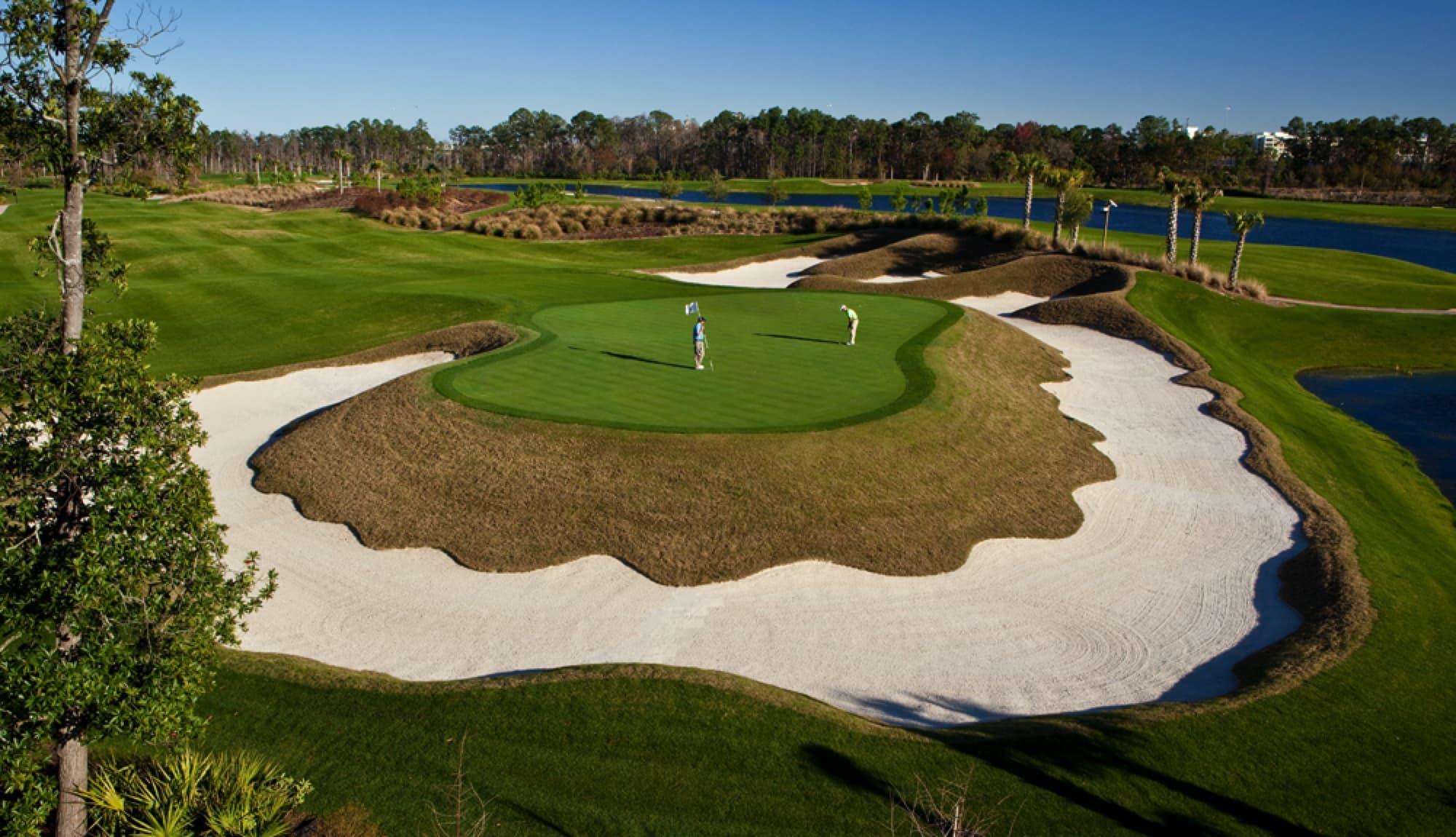 3. Waldorf Astoria Golf Club - 11th Hole