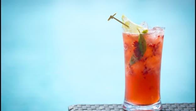 Aquamarine drink