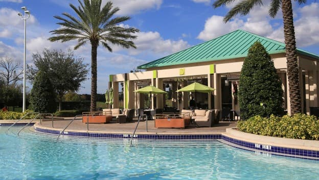 Orlando Hotels With Pool Bars Beech 174 At Hilton Orlando