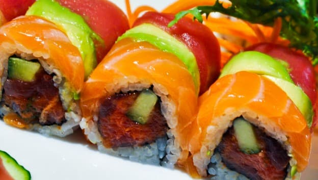 Zeta Bar & Sushi Lounge sushi