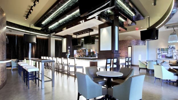 Zeta Bar & Sushi Lounge interior
