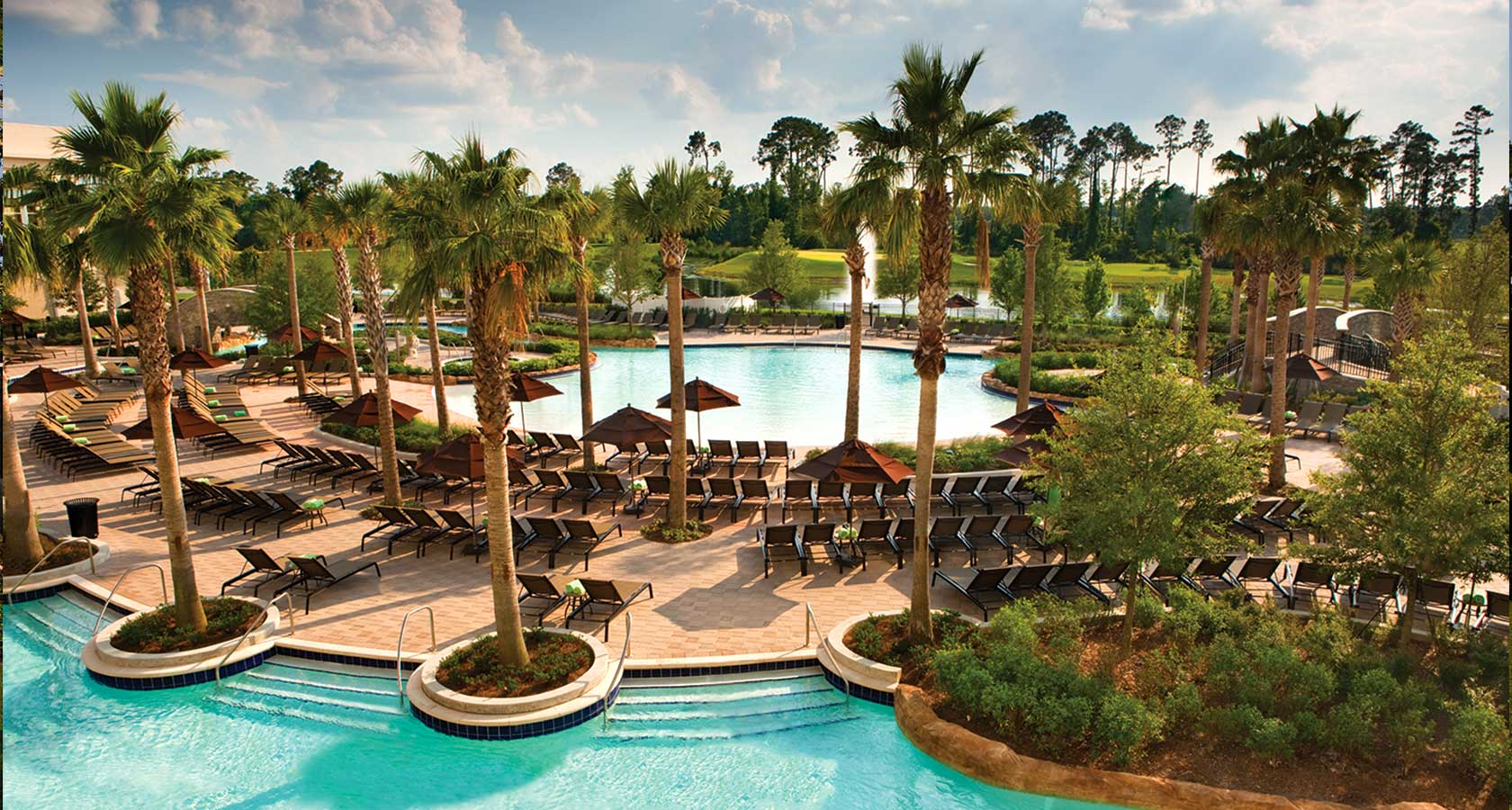 Hilton Bonnet Creek outdoor swimming pools
