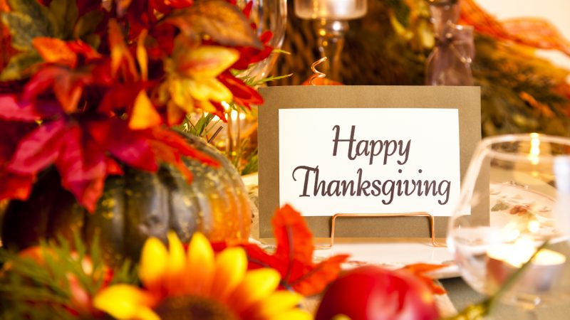 Thanksgiving Activities & Dining