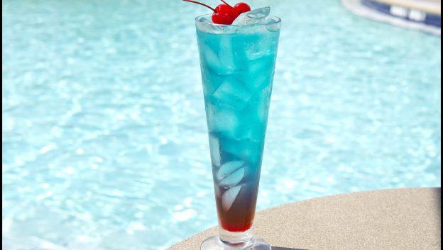 Beech Shark Bite Cocktail