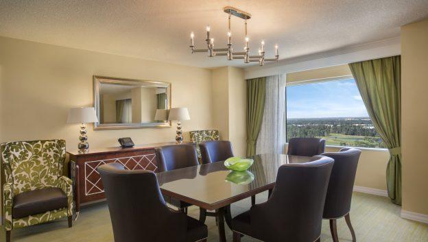 Executive suite dining area