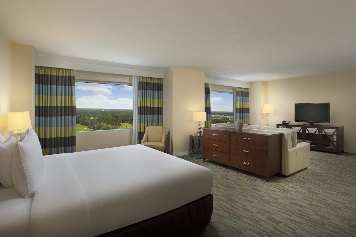 Hilton Hotel Junior Suite