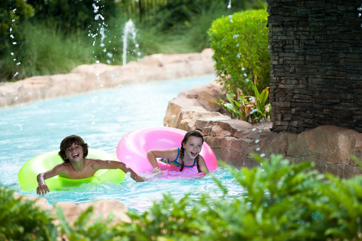 Orlando family resort recreation photos hilton bonnet creek fun on the lazy river at hilton orlando bonnet creek fandeluxe Gallery