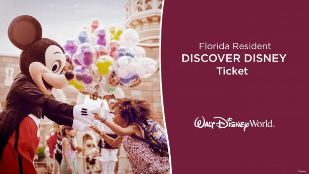 2017 WDW Florida Resident Discover ticket