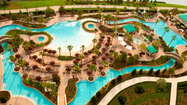 Relax and Float along our 3-acre Lazy River