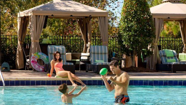 Hilton Orlando Bonnet Creek Zero-Entry Pool