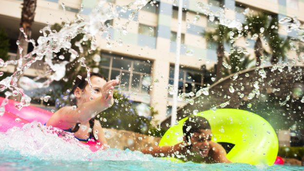 Splash into fun on our 3-acre Lazy River
