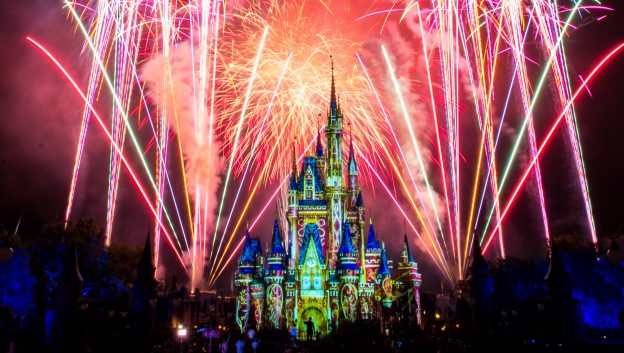Happily Ever After Nighttime Spectacular at Magic Kingdom