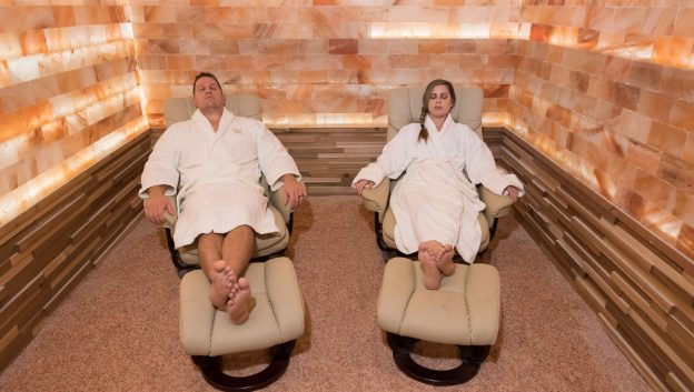 Waldorf Astoria Orlando Salt Therapy Room