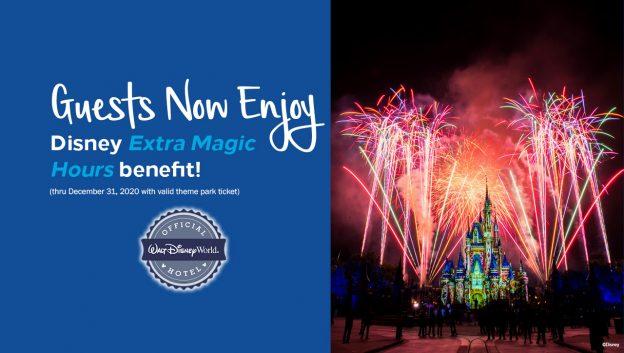 NEW! Disney Extra Magic Hours Benefit at Hilton Orlando Bonnet Creek