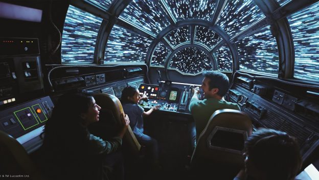 𝘚𝘵𝘢𝘳 𝘞𝘢𝘳𝘴: Galaxy's Edge Falcon Cockpit