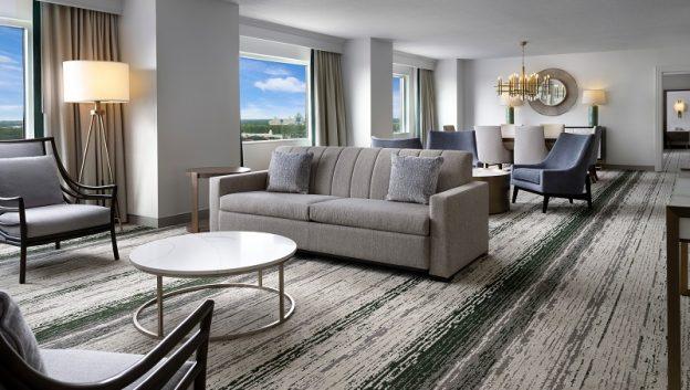 Executive Suite Living Area