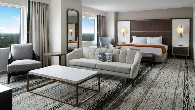Presidential Suite Bedroom Sitting Area