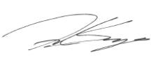 Fred Sawyers Signature